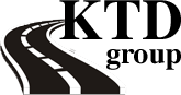 KTD Group logo, kelių tiesimas