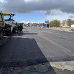 Išlietas asfaltas aikštelėje, KTD Group